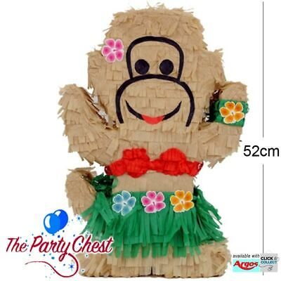 HAWAIIAN LUAU HULA MONKEY DANCER Pinata Beach Party Game Decoration PF229](Hawaiian Luau Games)