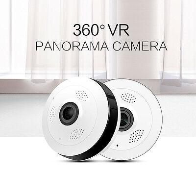 Mini 960P HD 360 Degree Fisheye WiFi Wireless Panoramic IP Camera Two Way Audio