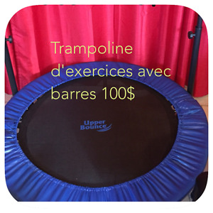 Trampoline d'exercices