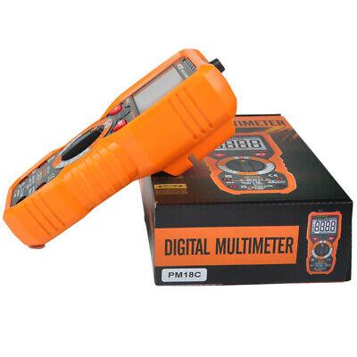Digital Multimeter Peakmeter Pm18c True Rms Acdc Voltage Resistance Meter Teste