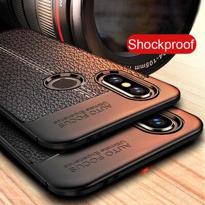 For Xiaomi Mi Mix 2S A1 A2 Lite POCO F1 Shockproof Soft Slim TPU Back Case Cover