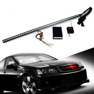 Night rider light ebay 48 led light night rider strip scanner bars wireless remote lamp new red colour mozeypictures Images