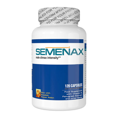 SEMENAX Natural Daily Supplement 1 Month Supply Bottle 120 Capsules