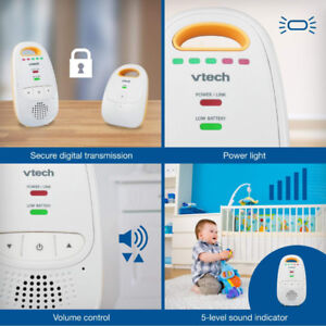 Excellent Condition-Vtech Safe & Sound Baby Monitor- $30