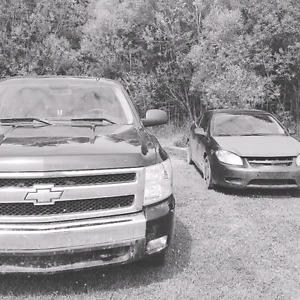 Cobalt ss supercharged and Silverado  looking for a diesel