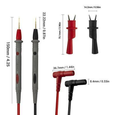 Universal Needle Tip Probe Test Leads Pin Digital Meter Tester Lead Wire Pen R