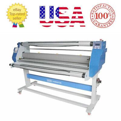 60 Full-auto Take Up Low Temp Large Format Hot Cold Seal Laminator Machine Usa