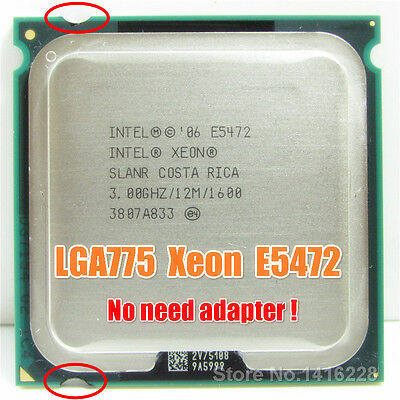 Intel Xeon E5472 LGA775 = (Core 2 Quad Q9650) more powerful (FSB 1600) Tdp80w segunda mano  Embacar hacia Argentina