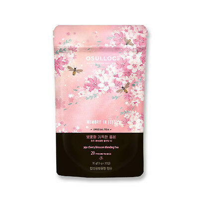 [OSULLOC] JEJU Cherry Blossom Blended Tea (20 Teabag)_MEMORY IN JEJU