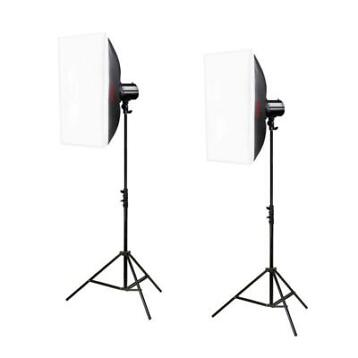 Godox Mini Pioneer 250 Watt Softbox Duo Kit