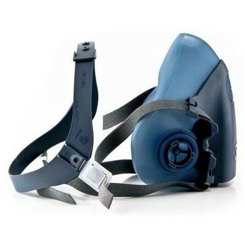 3M 7502 CoolFlow Reusable HalfFacepiece Respirator Respiratory Protection MEDIUM Business & Industrial