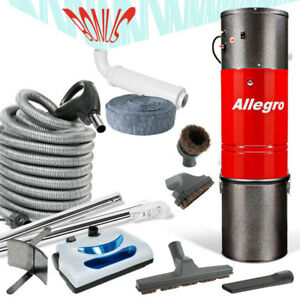 COMPLETE Central Vacuum Package LOADED WITH ACCESSORIES !