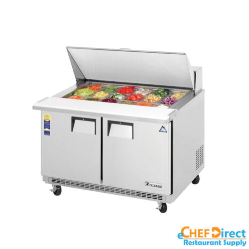 "Everest Epbr2 48"" Mega Top Sandwich Prep Table"