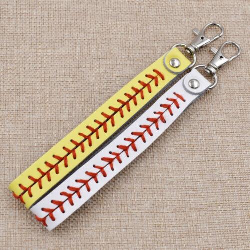 Fashion Leather Keychain Stiches for Women Bag Decor Accesso