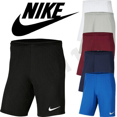 Nike Park III Shorts Bottoms Men Sport Active Gym Running Activewear Football