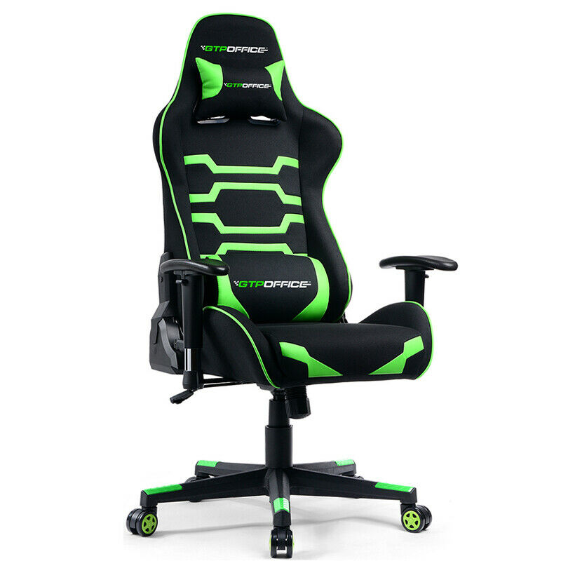 Gaming Office Chair Racing Ergonomic Mesh Leather High-back