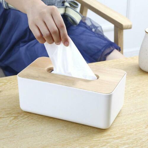 Tissuebox Kosmetiktücher box Taschentuchspender Kosmetiktuch Tücher Deko NEU YN