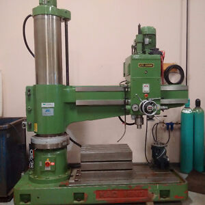 KAO MING KMR-1600 DH RADIAL ARM DRILL PRESS