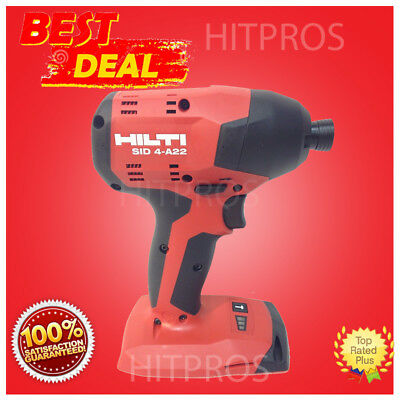 Hilti Sid 4-a22 Cordless Impact Drill Driver New Model Bare Tool Fast Ship