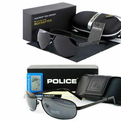 Mens polarized Sunglasses Aviators Pilot Driving Fishing Sport Men's Glasses