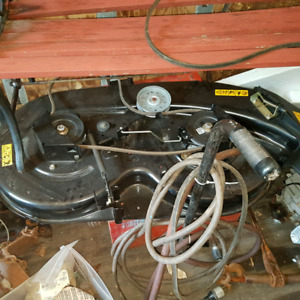 New Yard Machine mower deck