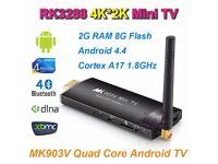 NEW MK903V RK3288 Quad Core 2GB 8GB Android 4.4 Mini PC TV Dongle WiFi XBMC HDMI