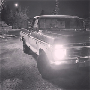 Wanted: 1973-1976 f250 4x4