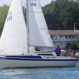 Tanzer 26 Sailboat-Legato One