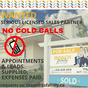 Looking For A Change? Licensed Sales Partner Wanted !