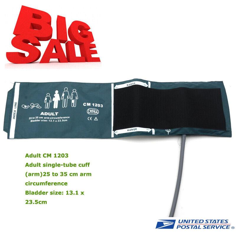 US 25-35cm Adult single-tube cuff Patient Monitor Cuff NIBP Blood Pressure Cuff