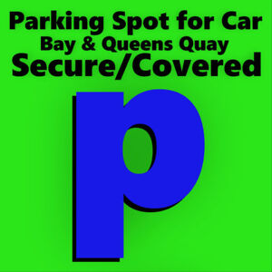 Parking Spot for Car - Bay & Queens Quay Secure/Covered