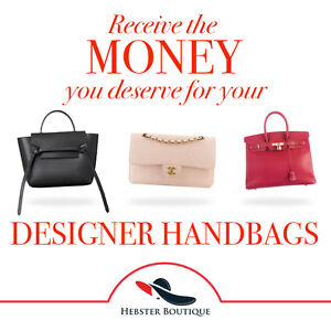 Sell your Chanel, Hermes, and Celine bags today!