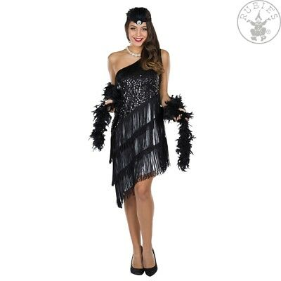 RUB 13317 Charleston 20er swing Flapper Kleid Karneval Damen Kostüm 34 bis 44