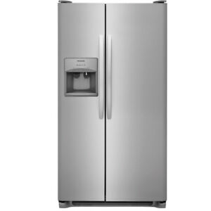 FRIGIDAIRE 33 INCH SIDE-BY-SIDE REFRIGERATOR WITH ICE MAKER  SS