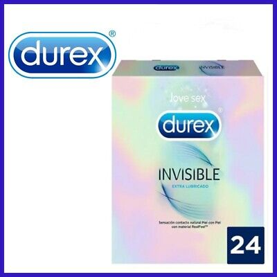 Durex Invisible Extra Sensitivo, 24 Preservativos