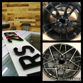 BMW style alloy wheels