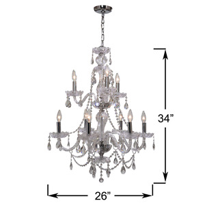 Wow Factor Crystal Chandelier