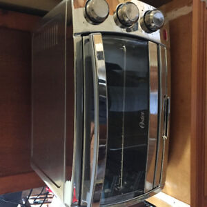 Almost brand new toaster oven