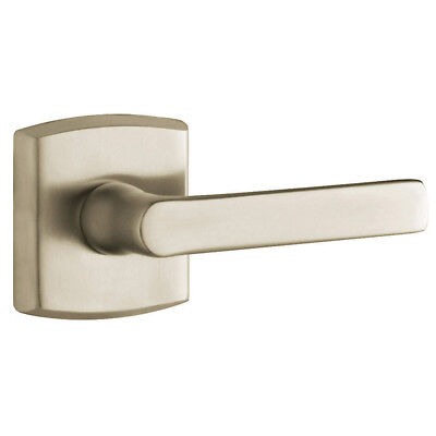 Baldwin Hardware Soho Lever - Baldwin 5485V150PRIV Privacy Door Lever with Soho Rose, Satin Nickel