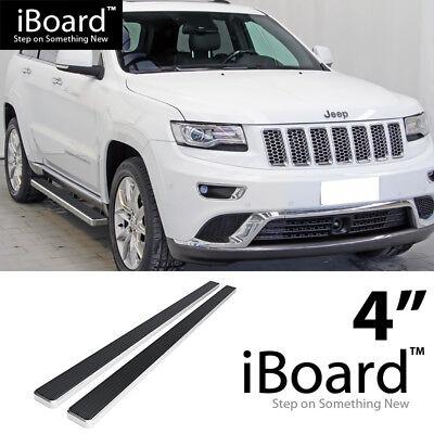 "Premium 5/"" Black iBoard Side Steps Fit 11-19 Jeep Grand Cherokee"