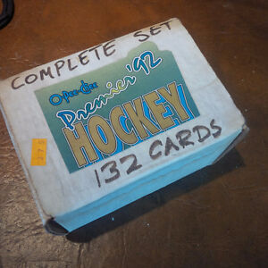 O-Pee-Chee Premier '92 Hockey, 132 Cards, Full Set
