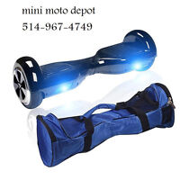 MINI MOTO DEPOT PROMOTION HOVERBOARD EBOARD 514-967-4749 BLUE