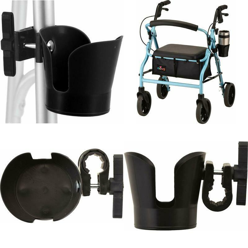 Universal Mobility Cup Holder Wheelchairs For Walkers Rollat