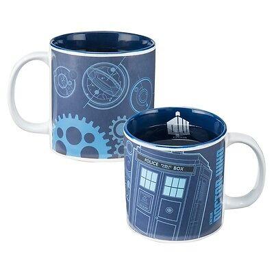 Doctor Who Travel Mug (DOCTOR WHO HEAT REACTIVE 20oz Cereamic Travel Mug - Vandor #16261 FREE)