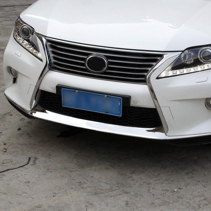 Front Down Bumper Molding Trim for LEXUS RX350 RX450 F Sport 2013 2014 2015
