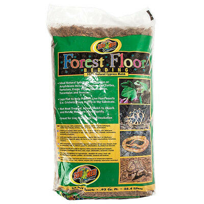 Zoo Med Forest Floor Bedding terrarium substrate 24 Dry Quart