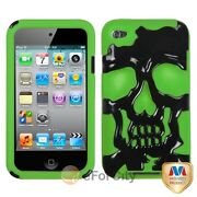iPod Touch 4G Silicone Case Green