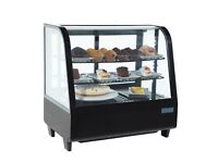 Polar countertop refrigerated display