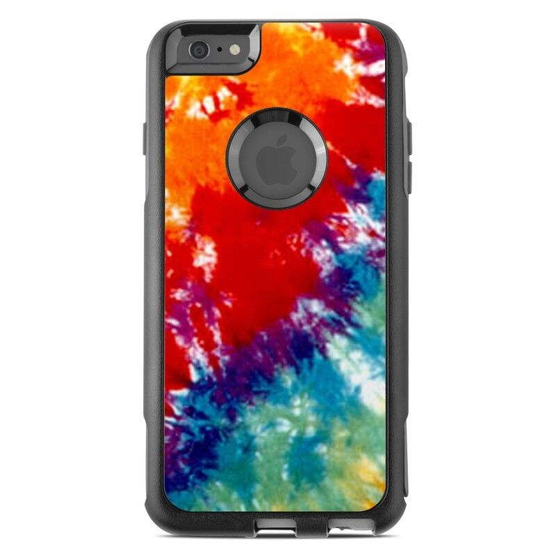 Skin for Otterbox Commuter iPhone 6 Plus - Tie Dyed - Sticker
