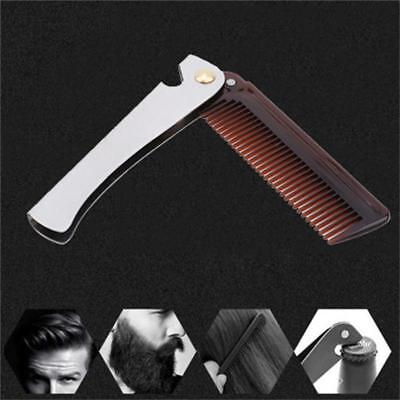 Stainless Steel Trimming Beard Mustache Comb and Bottle Opener Portable BL